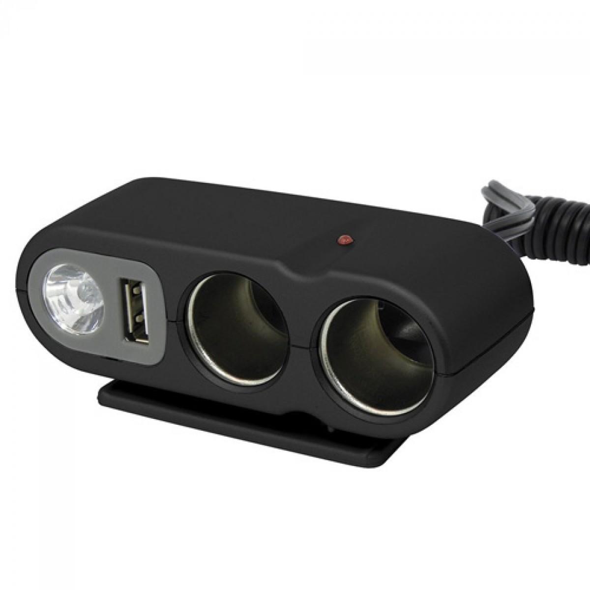 b0e21af4e0 SZIVARGYÚJTÓ ELOSZTÓ 2-ES + USB + VILÁGÍTÁS - - BELSŐ | Játék ...